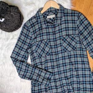Treasure and Bond button down shirt fall flannel